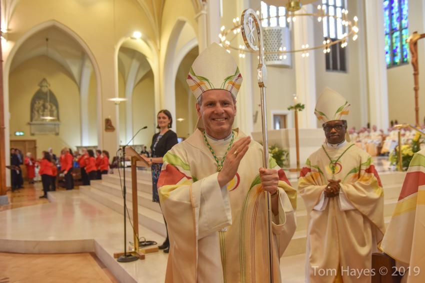 Welcome Bishop Fintan Gavin