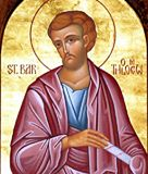 FEAST DAY OF ST BARTHOLOMEW