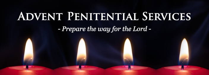 Penitential Services December 21st & 22nd
