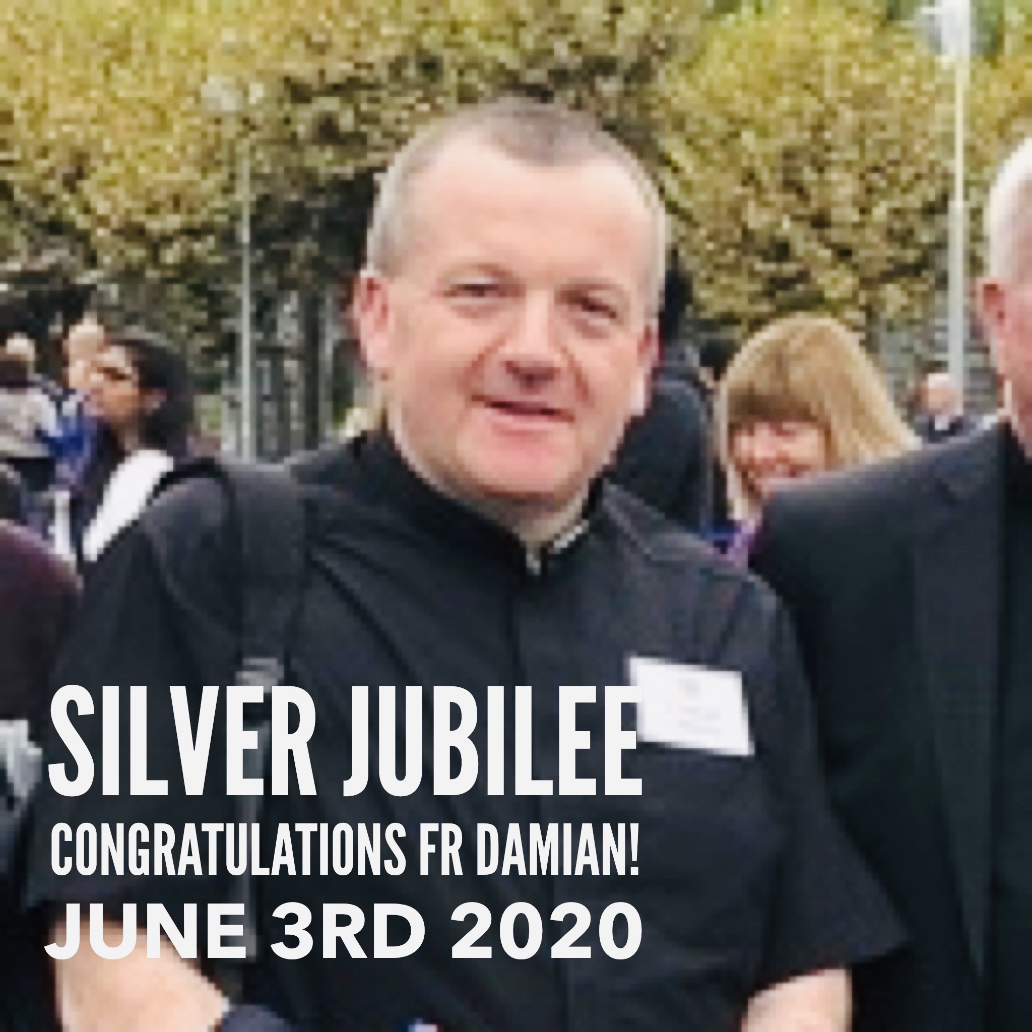 """Our"" Fr Damian O Mahony celebrates the Silver Jubilee of his Ordination"