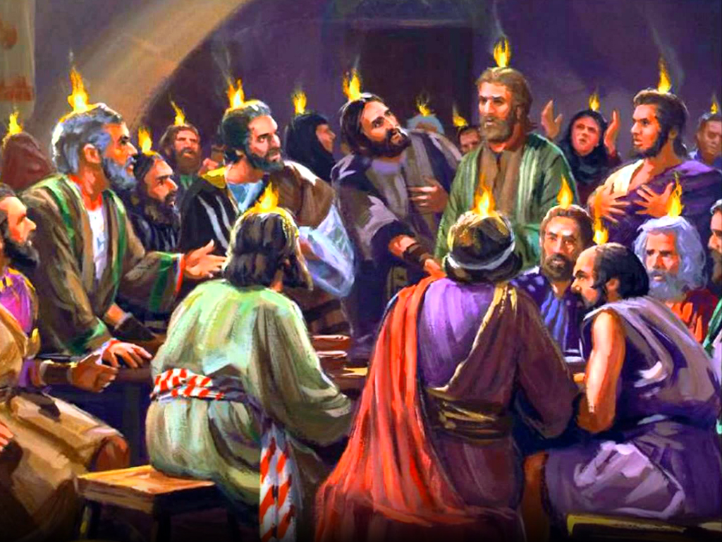 Mass Readings and Reflection for Pentecost Sunday May 31st 2020