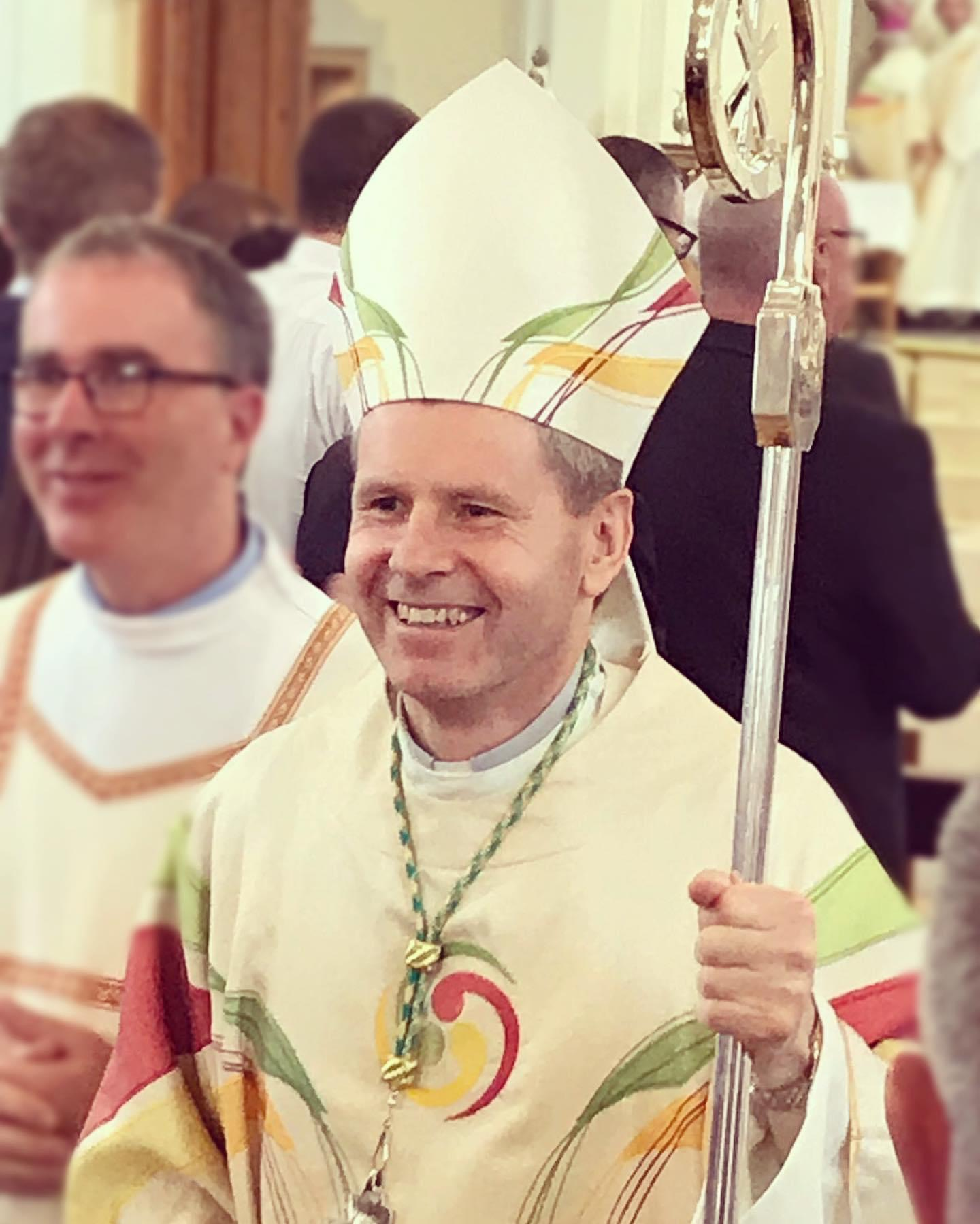 God Bless Bishop Fintan on the First Anniversary of his Episcopal Ordination